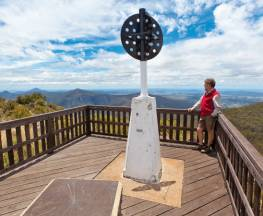Mount Kaputar summit walk Trail Hiking Australia
