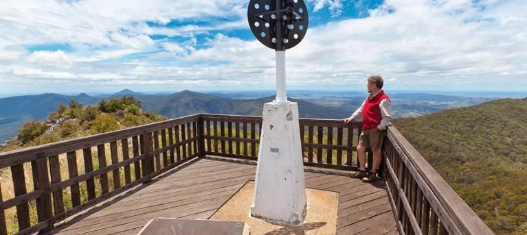 Mount Kaputar summit walk Trail Hiking Australia
