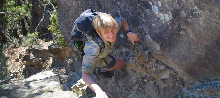 Mount Solitary walking track Trail Hiking Australia