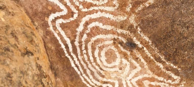 Mulgowan (Yappa) Aboriginal Art Site walking track Trail Hiking Australia