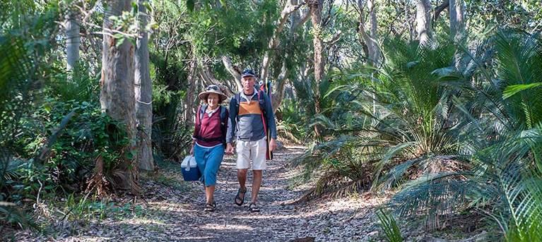 Myrtle Beach walking track Trail Hiking Australia