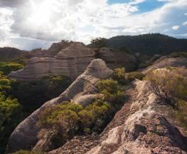 Pagoda Lookout walking track Trail Hiking Australia