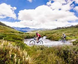 Pilot Wilderness mountain bike ride (Cascade Hut to Barry Way) Trail Hiking Australia