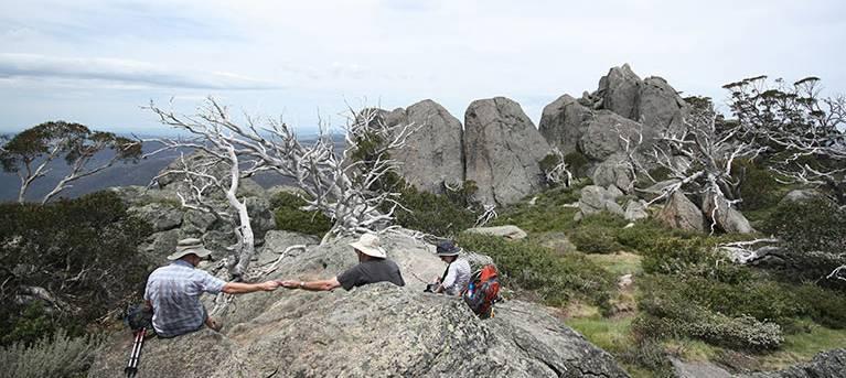 Porcupine walk Trail Hiking Australia