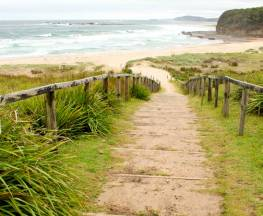 Pretty Beach to Durras Mountain walking track Trail Hiking Australia