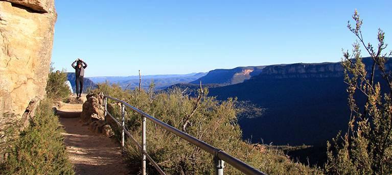 Prince Henry Cliff walk Trail Hiking Australia