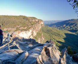 Princes Rock walking track Trail Hiking Australia