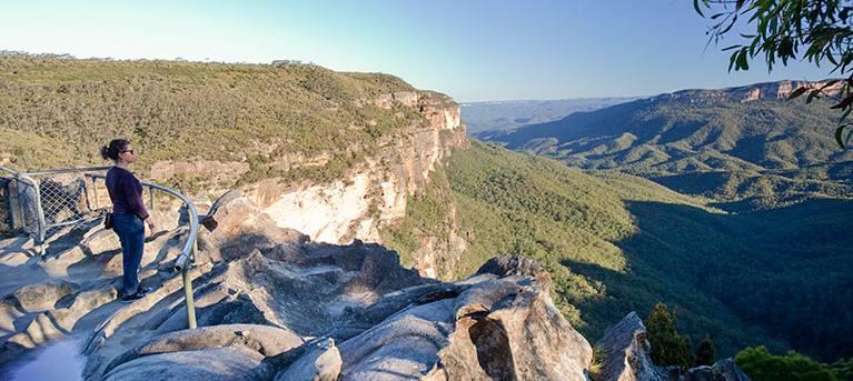 Princes Rock walking track Trail Hiking Australia