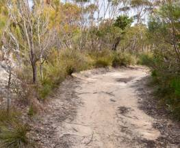 Red Rocks trig walking track Trail Hiking Australia