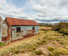 Round Mountain Hut walking track Trail Hiking Australia