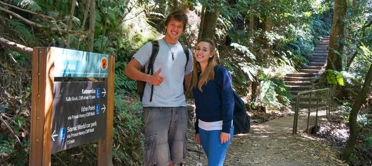 Round walking track Trail Hiking Australia