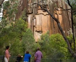 Sawn Rocks walking track Trail Hiking Australia