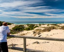 Submarine Beach walking track Trail Hiking Australia