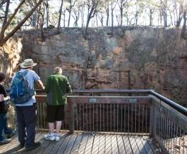 The Big Hole walking track Trail Hiking Australia