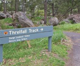 Threlfall walking track Trail Hiking Australia