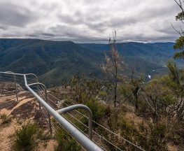 Tommys Rock lookout and walking track Trail Hiking Australia