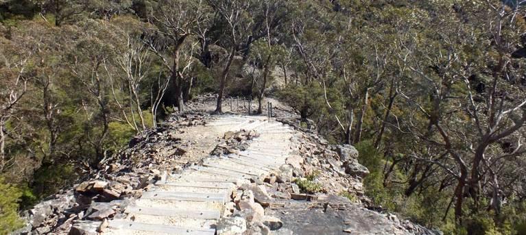 Waterfall walk Trail Hiking Australia