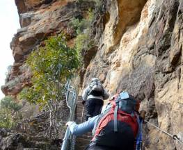 Wentworth Pass loop walking track Trail Hiking Australia