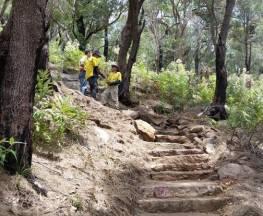 West Head army track Trail Hiking Australia