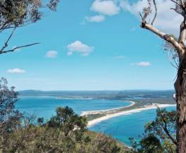 Yacaaba Headland walking track Trail Hiking Australia