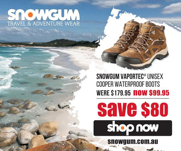 Trail Hiking Australia Snowgum Cooper Mk3