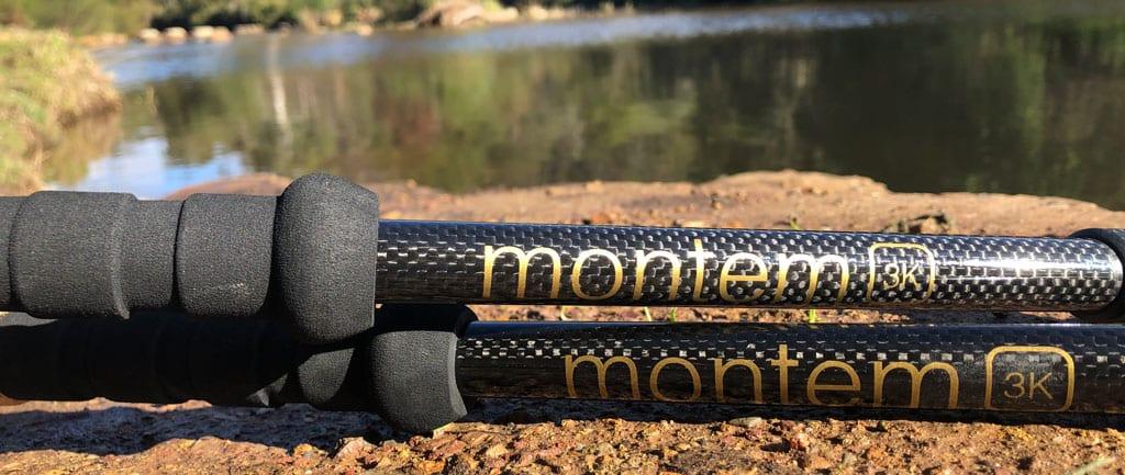 Trail Hiking Australia Montem Ultra-Light 3K Carbon Fiber Trekking Poles