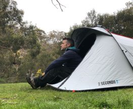 Quechua 2 Second Pop Up Camping Tent Trail Hiking Australia