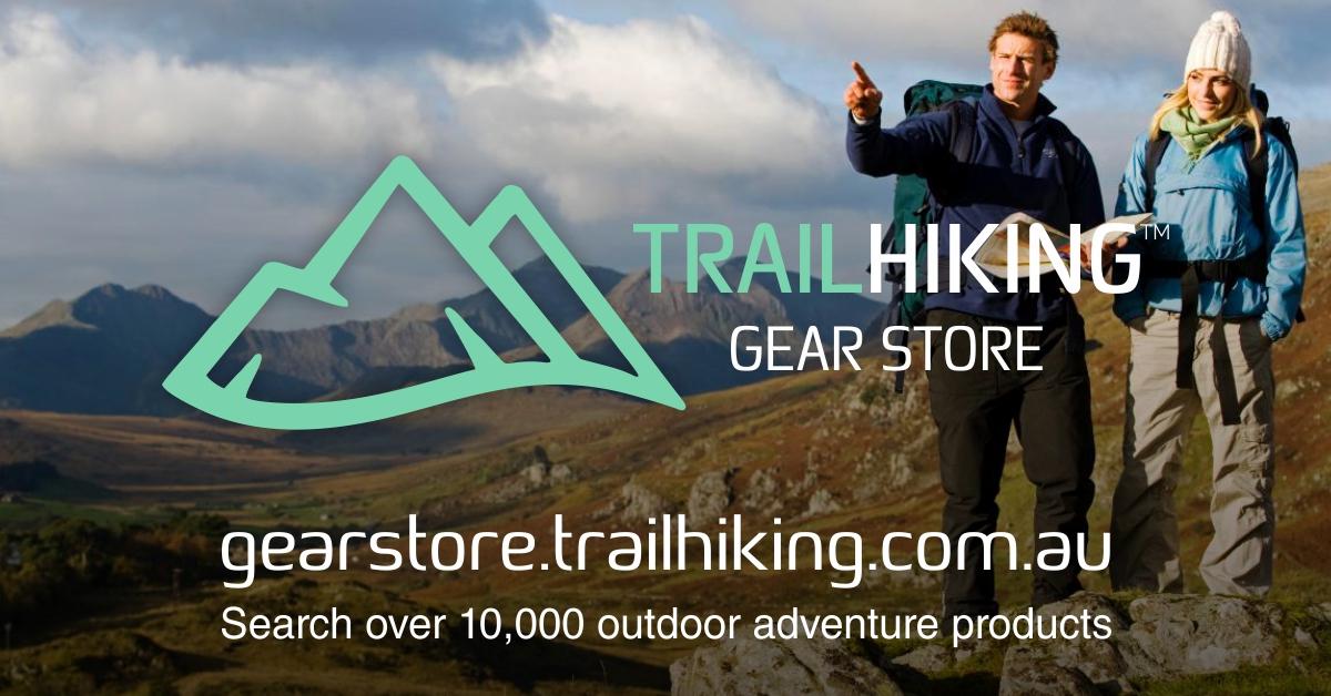 Trail Hiking Australia Gear Store Banner