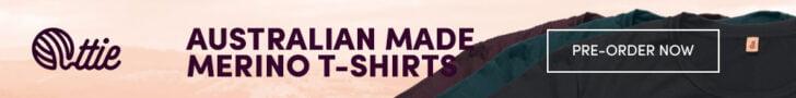 Ottie Australian Made Merino T-Shirts