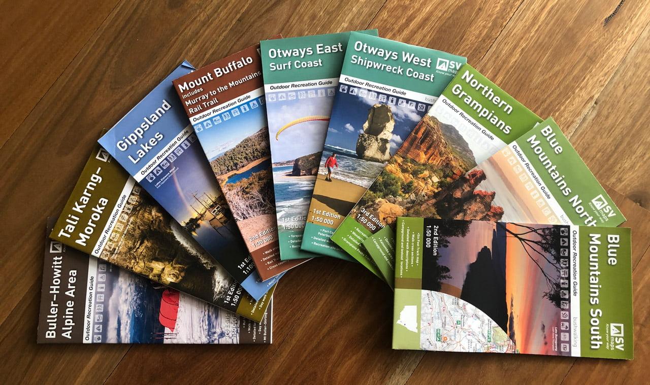 Trail Hiking Australia SV Maps Bundle